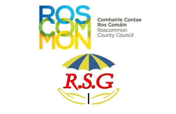 roscommon county council and rsg logo