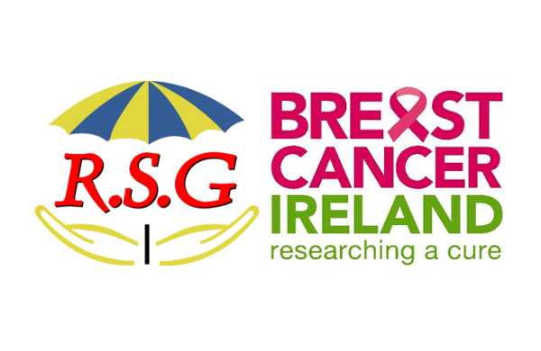 rsg breast cancer ireland logos