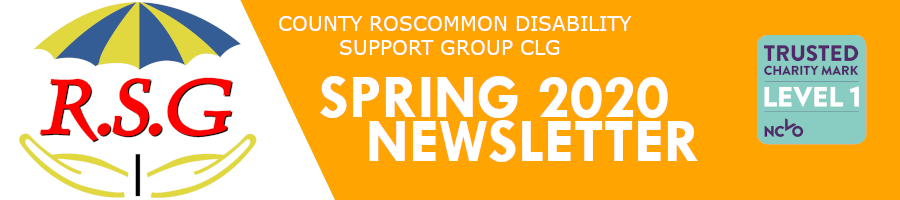 RSG Spring 2020 Newsletter Header
