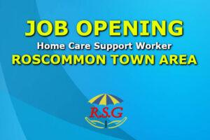 Carer jobs 2021 Roscommon