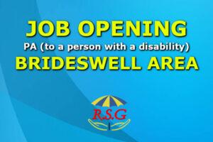 Carer jobs 2020 Brideswell v2